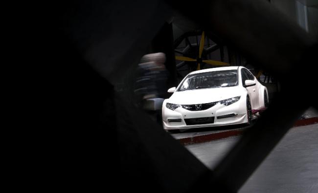 El nuevo Honda Civic Touring Car ya está de pruebas con el equipo