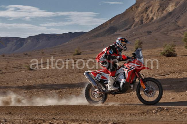 Honda competirá en el Rally Dakar 2013 con tres pilotos