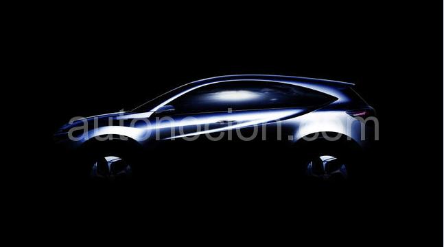 Primer Teaser del Honda Urban Suv Concept
