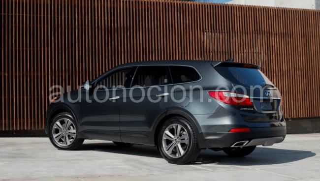 Hyundai Santa Fe de 6/7 plazas listo y visible para todos