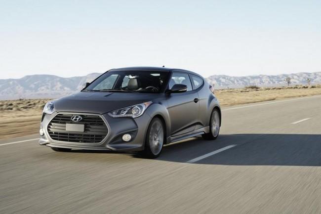 Hyundai revela el Veloster Turbo que rodará en Europa