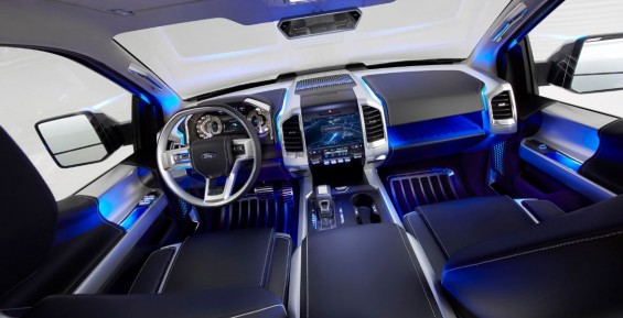interior ford atlas