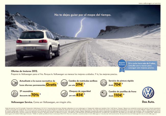 Volkswagen lanza sus ofertas de invierno