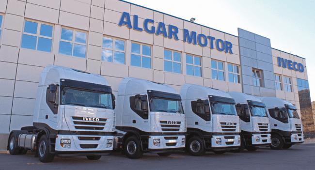 Las cinco nuevas unidades Iveco adquiridas por Transportes Manuel Correas