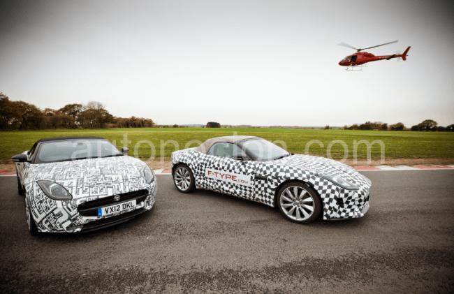 Más sobre las pruebas del Jaguar F-TYPE