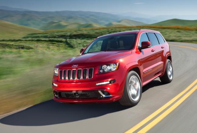 Al Jeep Grand Cherokee ya lo conocemos, pero ¿al SRT8?