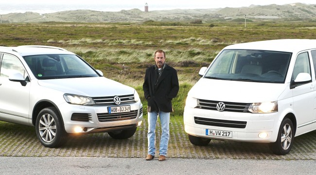 Kevin Kostner se va de gira con Volkswagen
