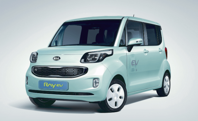 Kia Ray EV: En exclusiva para el mercado coreano