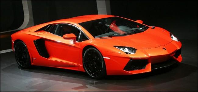 Lamborghini Aventador con… ¿Llantas de Bugatti Veyron?