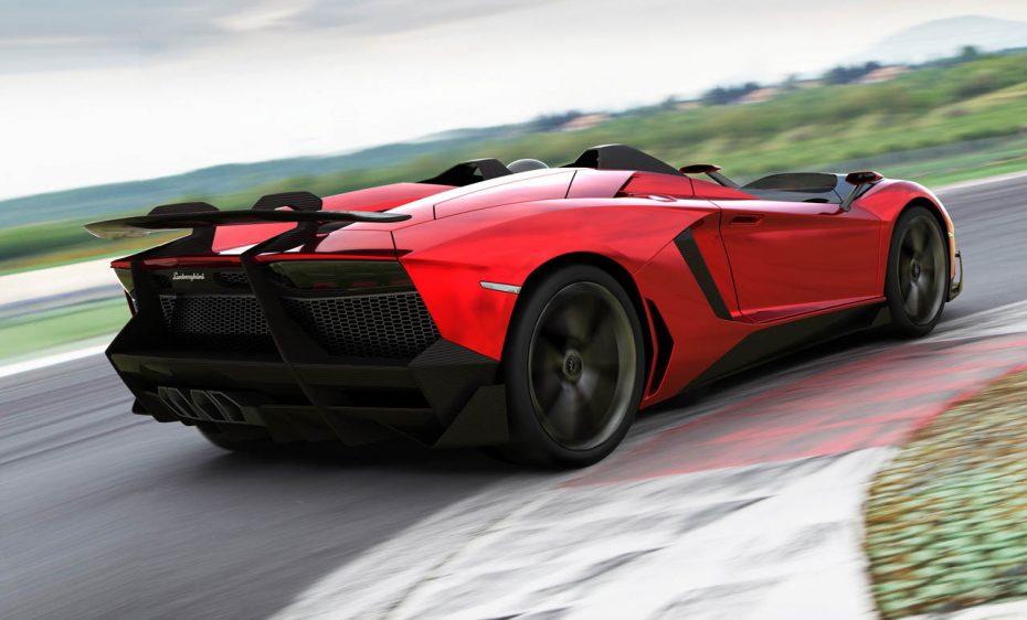 Lamborghini Aventador en su versión Roadster