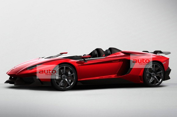 Se desvela el Lamborghini Aventador J
