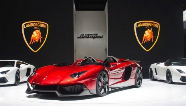Lamborghini Aventador J se lanza al mundo