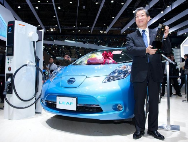 El Nissan Leaf, nuevo coche japonés del año