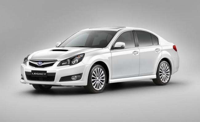 Nuevos equipamientos para el Subaru Legacy y Outback