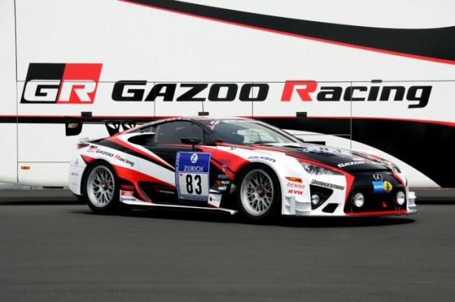 Lexus deja huella con el LFA en las 24 horas de Nürburgring