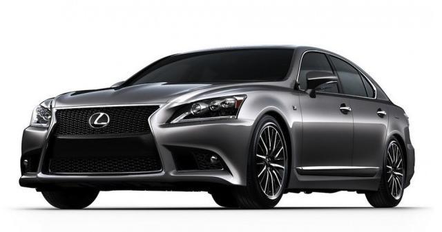 Las primeras imágenes del nuevo Lexus LS