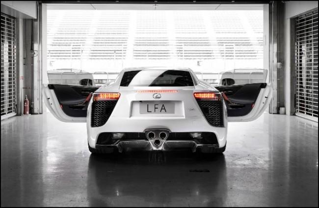 """El Lexus LFA incorporará """"Flying Doctors"""""""