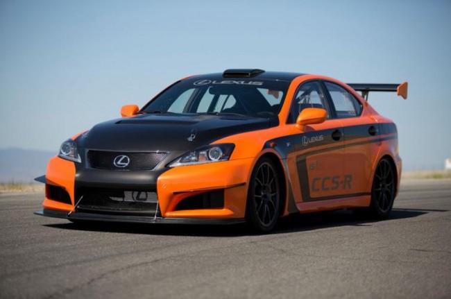 Lexus subirá a Pikes Peak con la versión deportiva del IS F