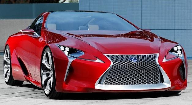Probabilidades de Lexus LF-LC al 50%