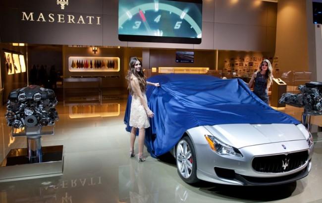 Maserati desvela el Quattroporte y fija su precio de salida desde 125.788 euros