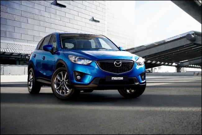 Imágenes definitivas del Mazda CX-5: Tecnología Skyactiv