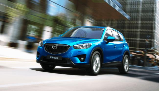 5 estrellas en las pruebas de choque para el Mazda CX-5