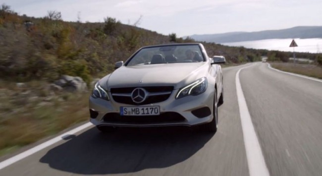 Mercedes-Benz Clase E coupé y cabrio en movimiento