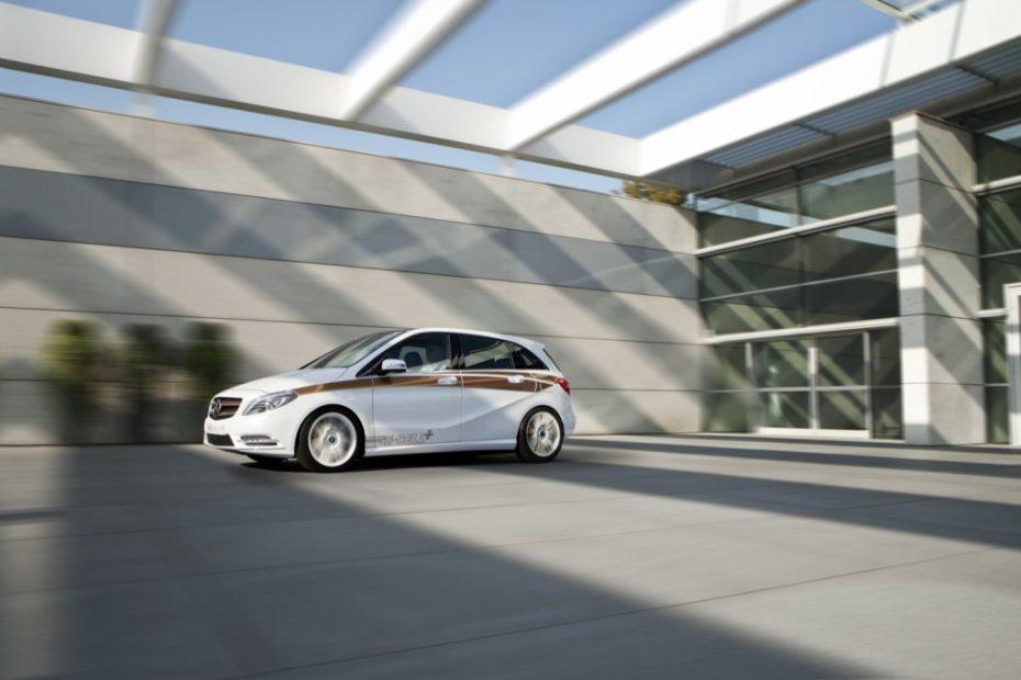 Mercedes-Benz Clase B E-Cell, nuestro futuro más cercano