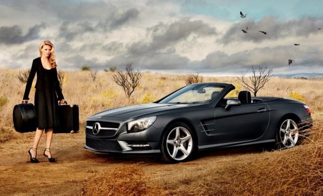 Lara Stone y el nuevo Mercedes SL, estrellas de Calvin Klein