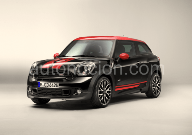 MINI John Cooper Works Paceman: primer Sports Activity Coupé compacto