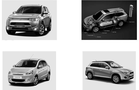 Mitsubishi presenta entre otros el Outlander PHEV Plug-in Hybrid EV