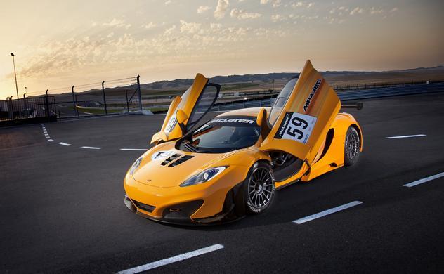 Los primeros clientes del McLaren MP4-12C GT3