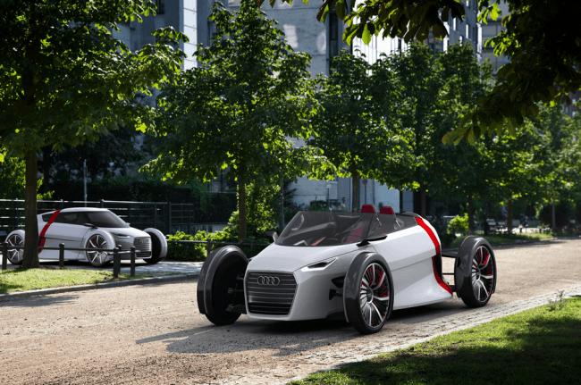Audi presenta en su museo la movilidad del futuro