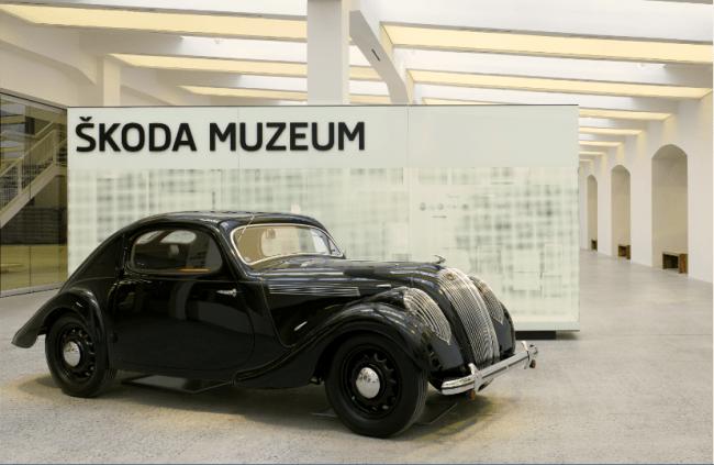 El nuevo museo Skoda abre sus puertas