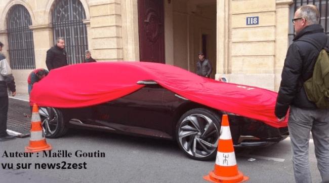 ¿Citroën DS9 cazado en París?