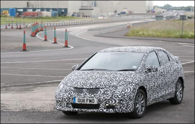 La novena generación del Honda Civic: últimos retoques