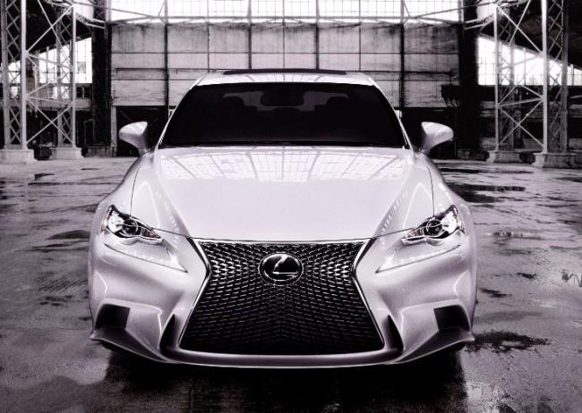 Nuevo Lexus IS al descubierto