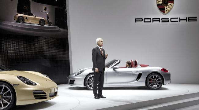 Porsche nos enseña el nuevo Boxter