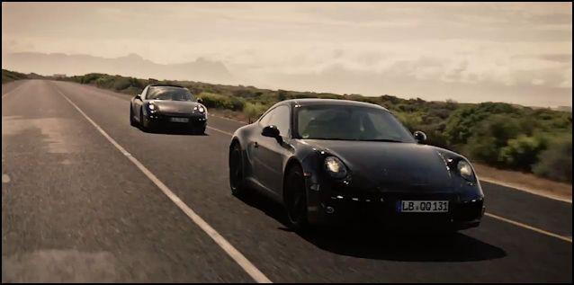 La próxima generación del Porsche 911 en vídeo