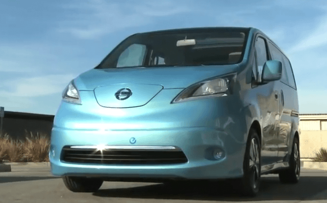 [Vídeo] Un paseo por la Nissan e-NV200