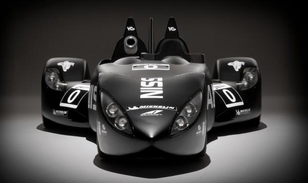 El Nissan DeltaWing ya rueda por los circuitos de prueba