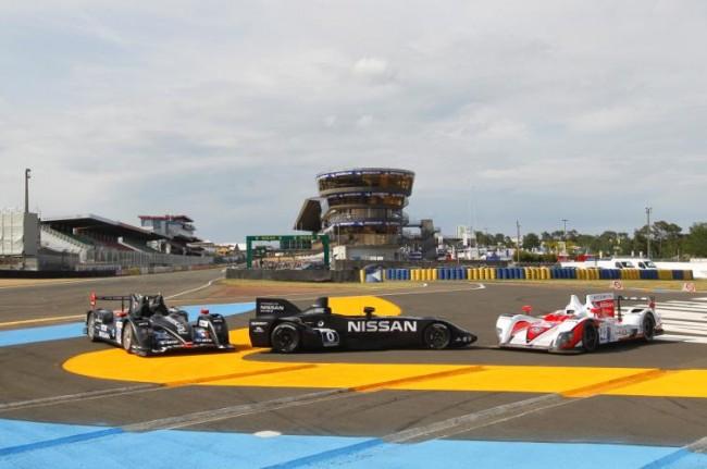 Nissan siente ya el espíritu de Le Mans