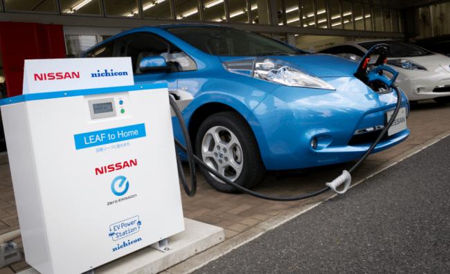 Nissan nos demuestra la capacidad del LEAF para transferir energía a una casa