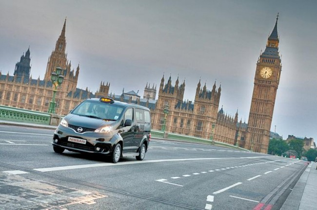Nissan presenta el NV200 London Taxi