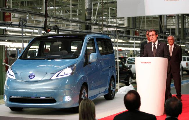 La variante eléctrica de la NV200 se producirá en Barcelona