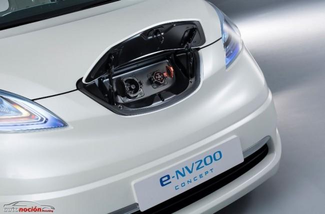 Nissan encuentra con la e-NV200 un gran respaldo de la industria