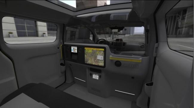 El interior es lo que cuenta: Nissan NV 200 taxi