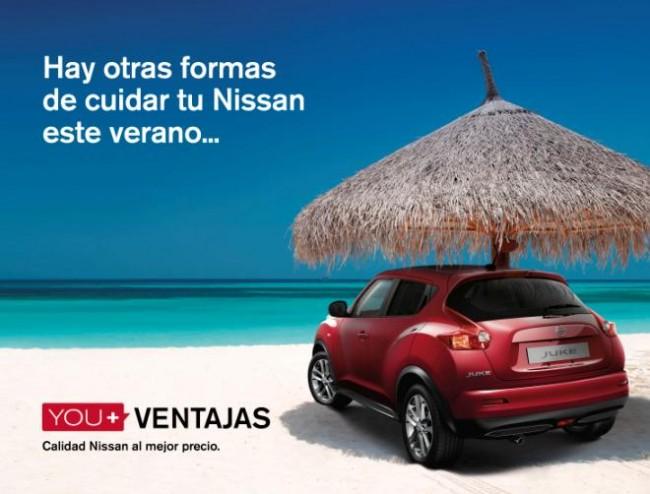 Nissan lanza la campaña de verano You + Ventajas