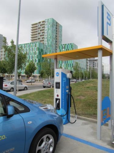 La carga rápida del vehículo eléctrico comienza en Euskadi por Nissan e IBIL