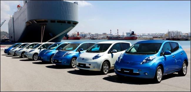Los primeros Nissan Leaf llegarán a España en breves